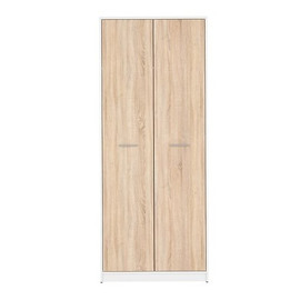 WARDROBE​ NEPO PLUS SZF2D BRW, Choose a color: white / Sonoma oak