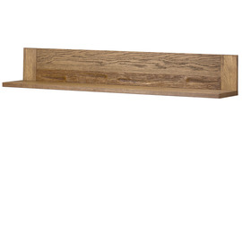SHELF hinged (long) Szynaka VELVET 35, Color :  rustic oak