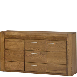 DRESSER two-door Szynaka VELVET 47, Color :  rustic oak